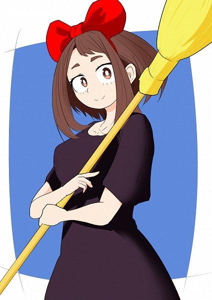 Tags: Anime, Pixiv Id 26230312, Boku no Hero Academia, Uraraka Ochako, Kiki (Majo no Takkyuubin) (Cosplay)