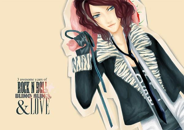 Tags: Anime, Uruha (The GazettE), Leather Jacket, Artist Request, The GazettE