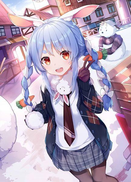 Tags: Anime, Pixiv Id 25486006, Hololive, Pekora Ch., Usada Pekora, Fanart, Fanart From Pixiv, Pixiv