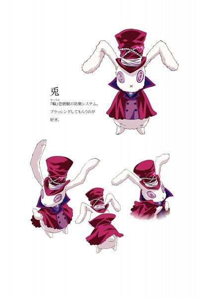Tags: Anime, Kawamura Toshie, Manglobe, Karneval, Usagi (Karneval), Mobile Wallpaper, Official Art, Official Character Information
