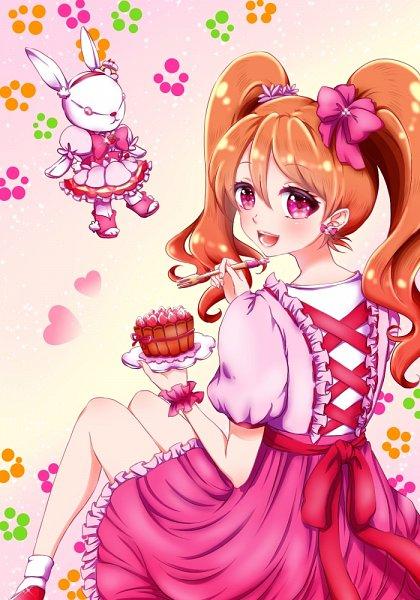 Tags: Anime, Pixiv Id 2024783, Kirakira☆Precure a la Mode, Usami Ichika, Cure Whip (Cosplay), Fanart, Fanart From Pixiv, Pixiv