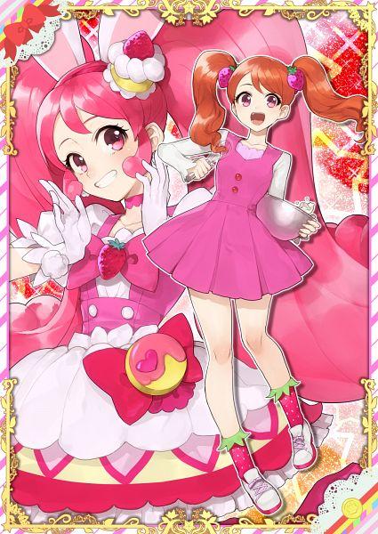 Tags: Anime, Hitoto, Kirakira☆Precure a la Mode, Cure Whip, Usami Ichika, Whisk, Pixiv, Fanart, Fanart From Pixiv