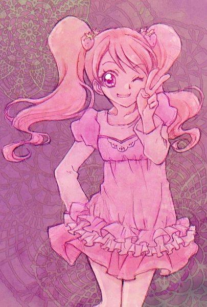 Tags: Anime, Aizen Kagura, Kirakira☆Precure a la Mode, Usami Ichika, Twitter, Fanart From Pixiv, Pixiv, Fanart