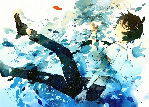 Tags: Anime, Pixiv Id 4251589, Tsuritama, Usami Natsuki, Fanart From Pixiv, Pixiv, Fanart