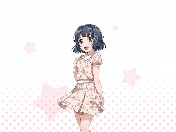 Tags: Anime, Craft Egg, BanG Dream! Girls Band Party!, Ushigome Rimi, Official Art, Official Card Illustration, PNG Conversion