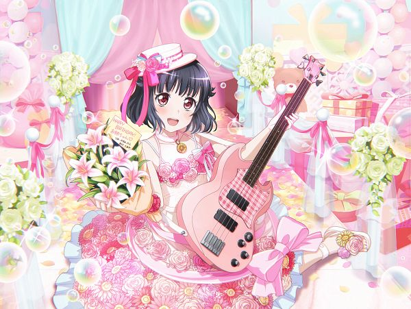 Tags: Anime, Craft Egg, BanG Dream! Girls Band Party!, Ushigome Rimi, Official Card Illustration, Official Art