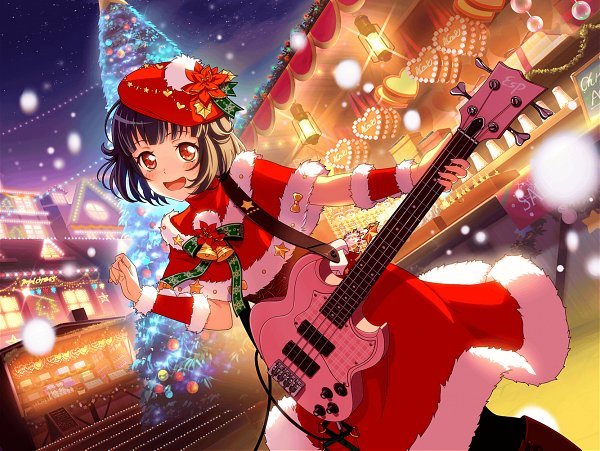Tags: Anime, Craft Egg, BanG Dream! Girls Band Party!, Ushigome Rimi, Official Art, Official Card Illustration