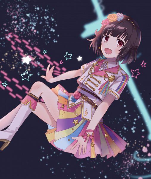 Tags: Anime, Pixiv Id 42330934, BanG Dream! Girls Band Party!, BanG Dream!, Ushigome Rimi
