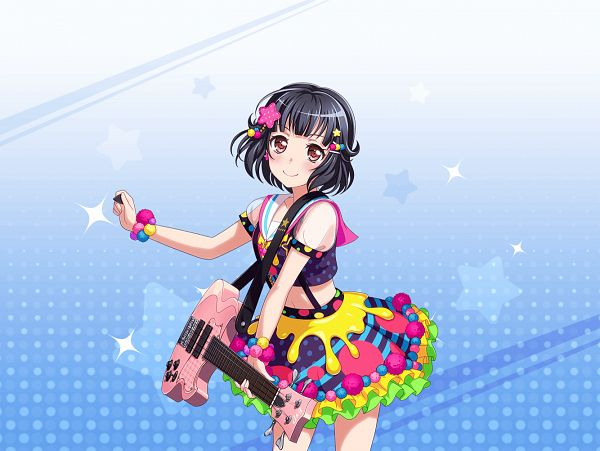 Tags: Anime, Craft Egg, BanG Dream! Girls Band Party!, BanG Dream!, Ushigome Rimi, Official Card Illustration, Official Art