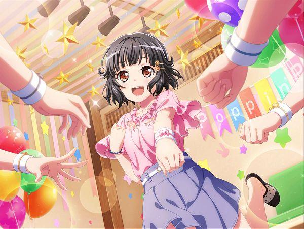 Tags: Anime, Craft Egg, BanG Dream! Girls Band Party!, BanG Dream!, Ushigome Rimi, Official Card Illustration, Official Art