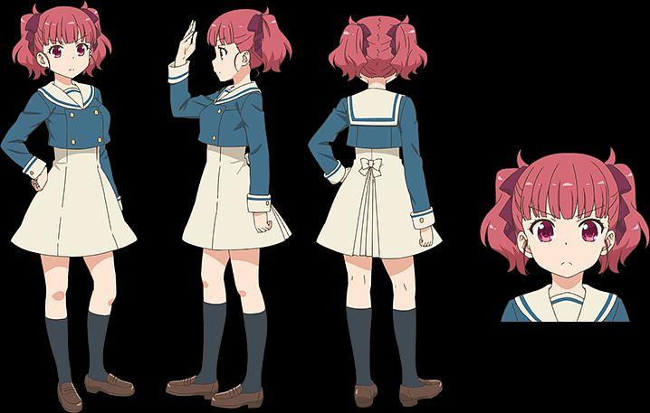 Tags: Anime, Amasaki Manamu, Dogakobo, Anima Yell!, Ushiku Kana, Official Art