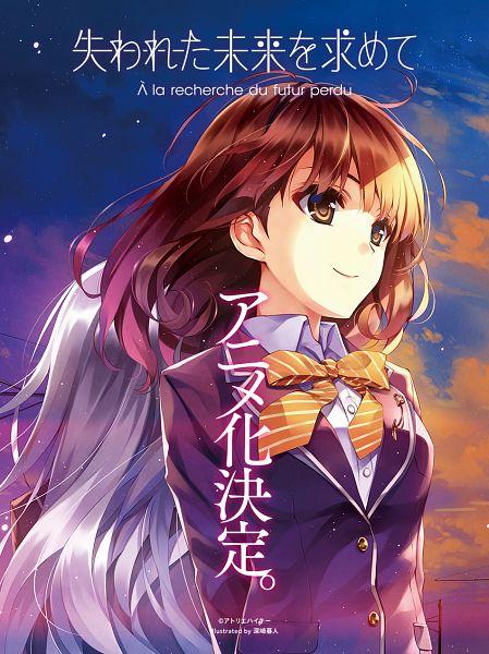Tags: Anime, Misaki Kurehito, Kuroya Shinobu, Cradle, Ushinawareta Mirai wo Motomete, Sasaki Kaori, Furukawa Yui, French Text, Official Art