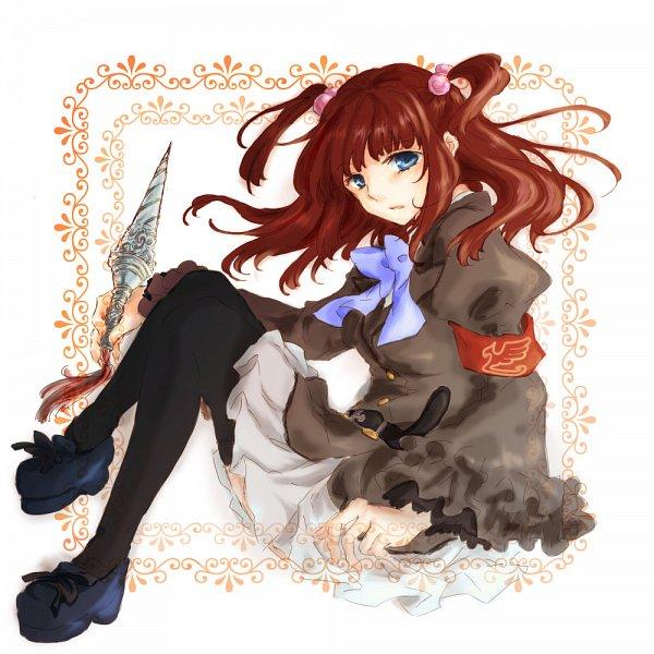 Tags: Anime, Robata, Umineko no Naku Koro ni, Ushiromiya Ange
