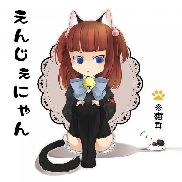Tags: Anime, Saya6382, 07th Expansion, Umineko no Naku Koro ni, Ushiromiya Ange, Amakusa Juuza