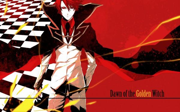 Tags: Anime, Pizaya, 07th Expansion, Umineko no Naku Koro ni, Ushiromiya Battler, 1600x1000 Wallpaper, Wallpaper