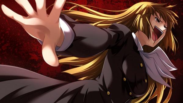 Tags: Anime, 07th Expansion, Umineko no Naku Koro ni, Ushiromiya Rosa, Wallpaper, Ougon Musou Kyoku, CG Art