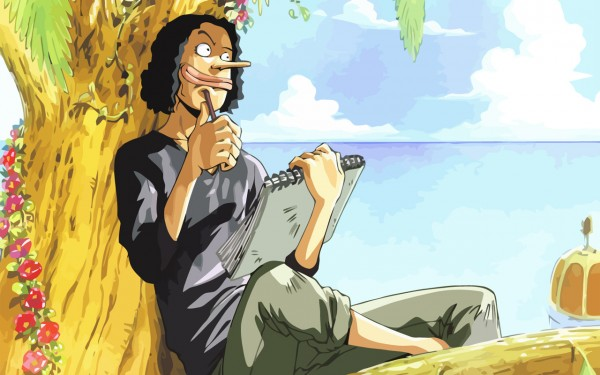 Tags: Anime, ONE PIECE, Usopp, Drawing (Action), Wallpaper