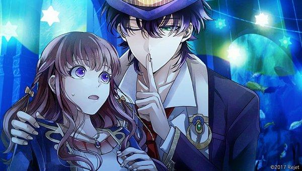 Tags: Anime, rain_drops-ame, Rejet, Usotsuki Shangri-La, Ende (Usotsuki Shangri-La), Tsugomori Akari, Official Art, CG Art