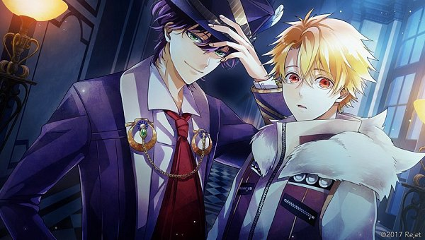 Tags: Anime, rain_drops-ame, Rejet, Usotsuki Shangri-La, Ende (Usotsuki Shangri-La), Hati (Usotsuki Shangri-La), CG Art, Official Art