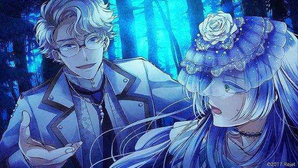 Tags: Anime, rain_drops-ame, Rejet, Usotsuki Shangri-La, Sonia (usotsuki Shangri-la), Olsen (usotsuki Shangri-la), Official Art, CG Art