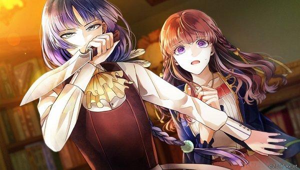 Tags: Anime, rain_drops-ame, Rejet, Usotsuki Shangri-La, Snotra (usotsuki Shangri-la), Tsugomori Akari, Official Art, CG Art