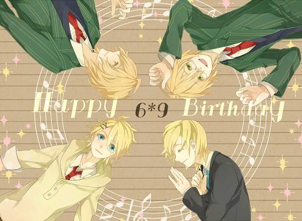 Tags: Anime, Pixiv Id 3470098, Uta no☆prince-sama♪, Kurusu Kaoru, Kurusu Shou, Shinomiya Natsuki, Birthdate Connection, Pixiv, Princes Of Song