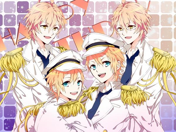 Tags: Anime, Pixiv Id 2096472, Uta no☆prince-sama♪, Kurusu Kaoru, Kurusu Shou, Shinomiya Natsuki, Birthdate Connection, Fanart From Pixiv, Pixiv, Wallpaper, Fanart, Princes Of Song