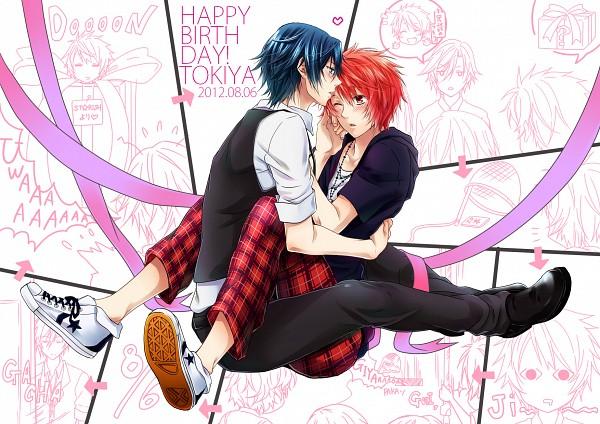 Tags: Anime, Pixiv Id 742266, Uta no☆prince-sama♪, Ichinose Tokiya, Ittoki Otoya, Pixiv, Fanart From Pixiv, Fanart, Princes Of Song