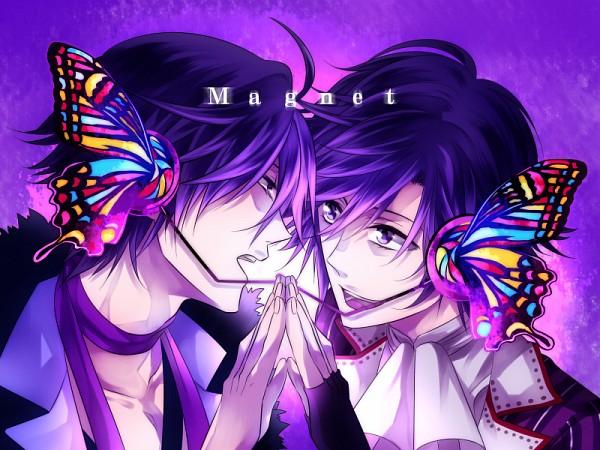 Tags: Anime, Kamu, Uta no☆prince-sama♪, Ichinose Tokiya, Fanart From Pixiv, Pixiv, Fanart, Magnet, Princes Of Song
