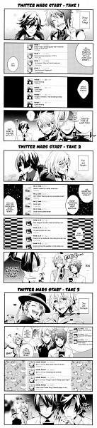 Tags: Anime, Nakagawa Waka, Uta no☆prince-sama♪, Ittoki Otoya, Jinguji Ren, Hijirikawa Masato, Ichinose Tokiya, Kurusu Shou, Shinomiya Natsuki, Comic, Twitter, Princes Of Song