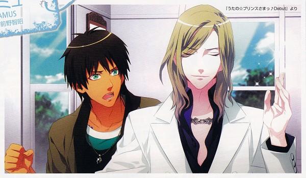 Tags: Anime, Kurahana Chinatsu, Yukihiro Utako, Uta no☆prince-sama♪, Aijima Cecil, Camus (Utapri), Scan, Princes Of Song