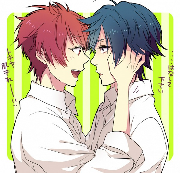 Tags: Anime, Pixiv Id 8652120, Uta no☆prince-sama♪, Ittoki Otoya, Ichinose Tokiya, Pixiv, Princes Of Song