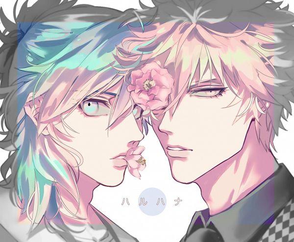 Tags: Anime, Uta no☆prince-sama♪, Kurosaki Ranmaru, Mikaze Ai, Hanahaki Disease, Violet (Flower), Twitter, Fanart, Princes Of Song