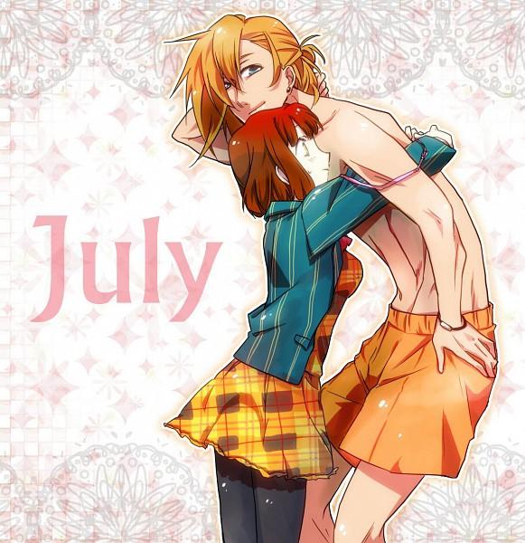 Tags: Anime, Pixiv Id 729577, Uta no☆prince-sama♪, Jinguji Ren, Nanami Haruka, Fanart, Pixiv, Princes Of Song