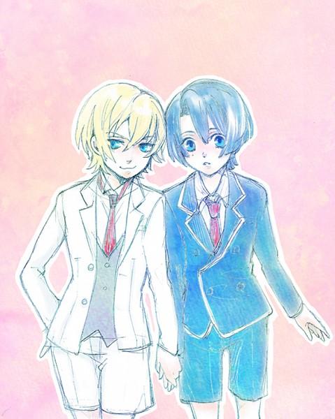 Tags: Anime, Pixiv Id 20684094, BROCCOLI, Uta no☆prince-sama♪, Hijirikawa Masato, Jinguji Ren, Princes Of Song