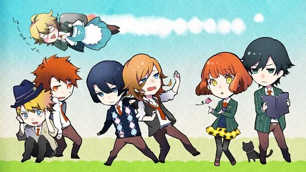 Tags: Anime, Mizunoe, BROCCOLI, Uta no☆prince-sama♪, Jinguji Ren, Hijirikawa Masato, Ichinose Tokiya, Nanami Haruka, Kurusu Syo, Shinomiya Natsuki, Ittoki Otoya, Facebook Cover, Princes Of Song