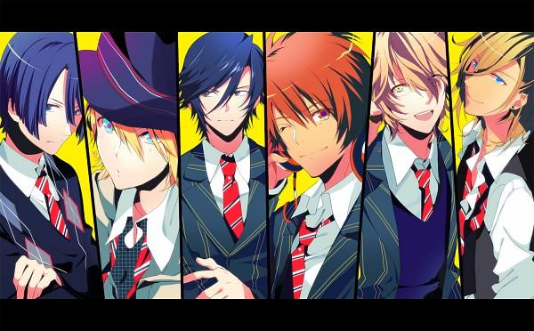 Tags: Anime, Manya (Mohu Is-mine), BROCCOLI, Uta no☆prince-sama♪, Jinguji Ren, Hijirikawa Masato, Ichinose Tokiya, Kurusu Syo, Shinomiya Natsuki, Ittoki Otoya, Fanart, Pixiv, Princes Of Song