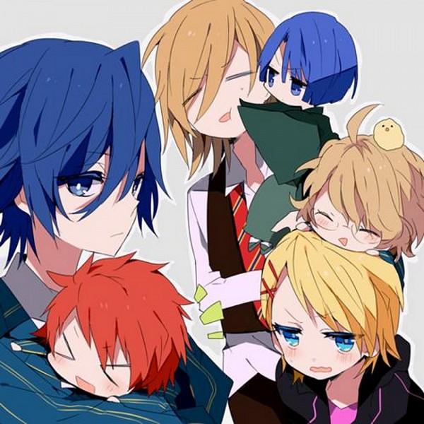 Tags: Anime, Shichi, BROCCOLI, Uta no☆prince-sama♪, Shinomiya Natsuki, Ittoki Otoya, Jinguji Ren, Hijirikawa Masato, Ichinose Tokiya, Kurusu Syo, >:(, >w<, Princes Of Song