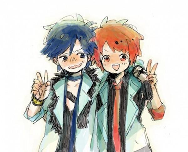 Tags: Anime, Pixiv Id 2281588, BROCCOLI, Uta no☆prince-sama♪, Ittoki Otoya, Ichinose Tokiya, Pixiv, Maji LOVE 1000%, Fanart, Princes Of Song