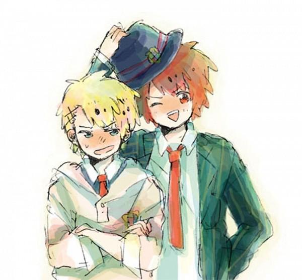Tags: Anime, Pixiv Id 2281588, BROCCOLI, Uta no☆prince-sama♪, Ittoki Otoya, Kurusu Syo, Pixiv, Fanart, Princes Of Song