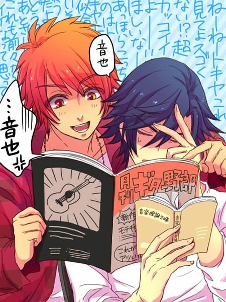 Tags: Anime, Pixiv Id 82170, BROCCOLI, Uta no☆prince-sama♪, Ittoki Otoya, Ichinose Tokiya, Fanart, Pixiv, Princes Of Song