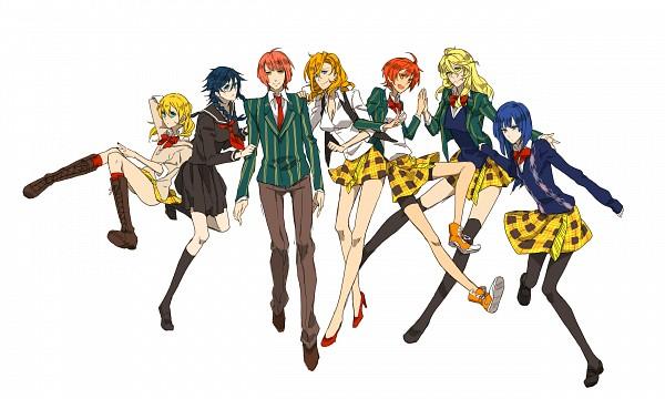 Tags: Anime, BROCCOLI, Uta no☆prince-sama♪, Kurusu Syo, Shinomiya Natsuki, Ittoki Otoya, Jinguji Ren, Hijirikawa Masato, Ichinose Tokiya, Nanami Haruka, Wallpaper, Princes Of Song