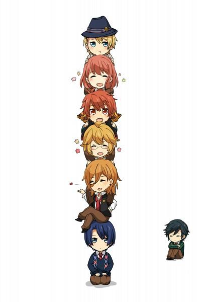 Tags: Anime, Pixiv Id 2363233, BROCCOLI, Uta no☆prince-sama♪, Shinomiya Natsuki, Ittoki Otoya, Jinguji Ren, Hijirikawa Masato, Ichinose Tokiya, Nanami Haruka, Kurusu Shou, Pixiv, Fanart, Princes Of Song