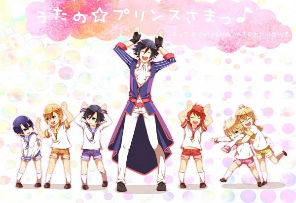 Tags: Anime, Hijikawa Arashi, Lonely Kite, Uta no☆prince-sama♪, Ittoki Otoya, Jinguji Ren, Hijirikawa Masato, Ichinose Tokiya, Kurusu Shou, Shinomiya Natsuki, Pixiv, Fanart, ST☆RISH, Princes Of Song