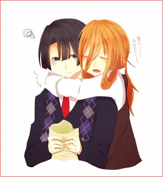 Tags: Anime, Pixiv Id 2197434, Uta no☆prince-sama♪, Hijirikawa Masato, Jinguji Ren, Pixiv, Fanart, Princes Of Song
