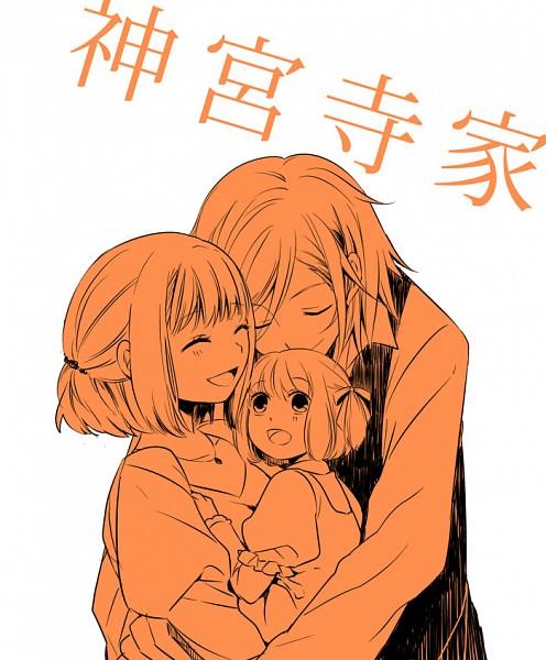 Tags: Anime, Naka 53, Uta no☆prince-sama♪, Jinguji Ren, Nanami Haruka, Fanart, Pixiv, Princes Of Song