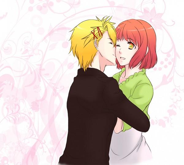 Tags: Anime, Uta no☆prince-sama♪, Kurusu Shou, Nanami Haruka, Pixiv, Fanart, Princes Of Song