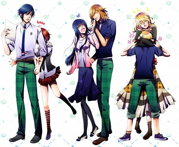 Tags: Anime, Kayabe, Uta no☆prince-sama♪, Hijirikawa Masato, Ichinose Tokiya, Kurusu Shou, Shinomiya Natsuki, Ittoki Otoya, Jinguji Ren, Pixiv, Fanart, ST☆RISH, Princes Of Song