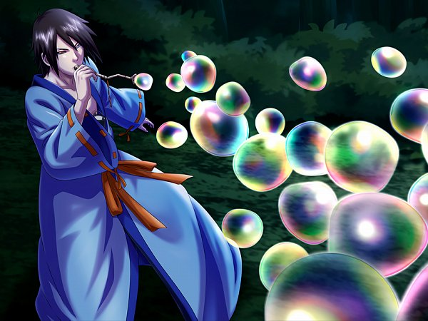Tags: Anime, NARUTO, Utakata (NARUTO), Official Art, Jinchuuriki