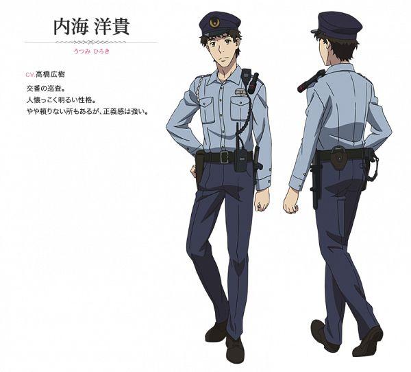 Tags: Anime, Satou Michio, TROYCA, Sakurako-san no Ashimoto ni wa Shitai ga Umatteiru, Utsumi Hiroki, Official Art, Character Sheet, Cover Image, PNG Conversion